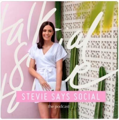 """Stevie Says Social Podcast"""