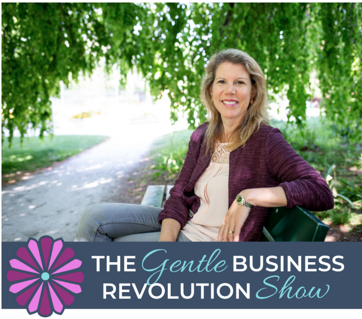 """""""Gentle Business Revolution Podcast on My Pink Pages"""""""