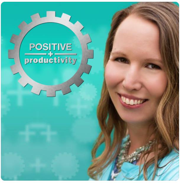 """Positive Productivity podcast with Kim Sutton"""