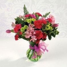 natures glory floral arrangement equals happiness