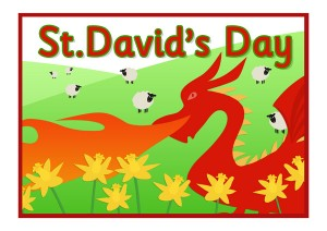"""Happy Saint David's Day"""