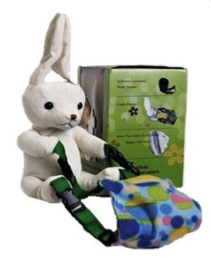 """This week's featured product is the Infant Innovators Hands-Free Bunny Bottle Holder created by Dr. Ervin Asomani, Company Founder"""